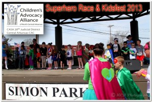 Kidsfest 2013 and Superhero Race
