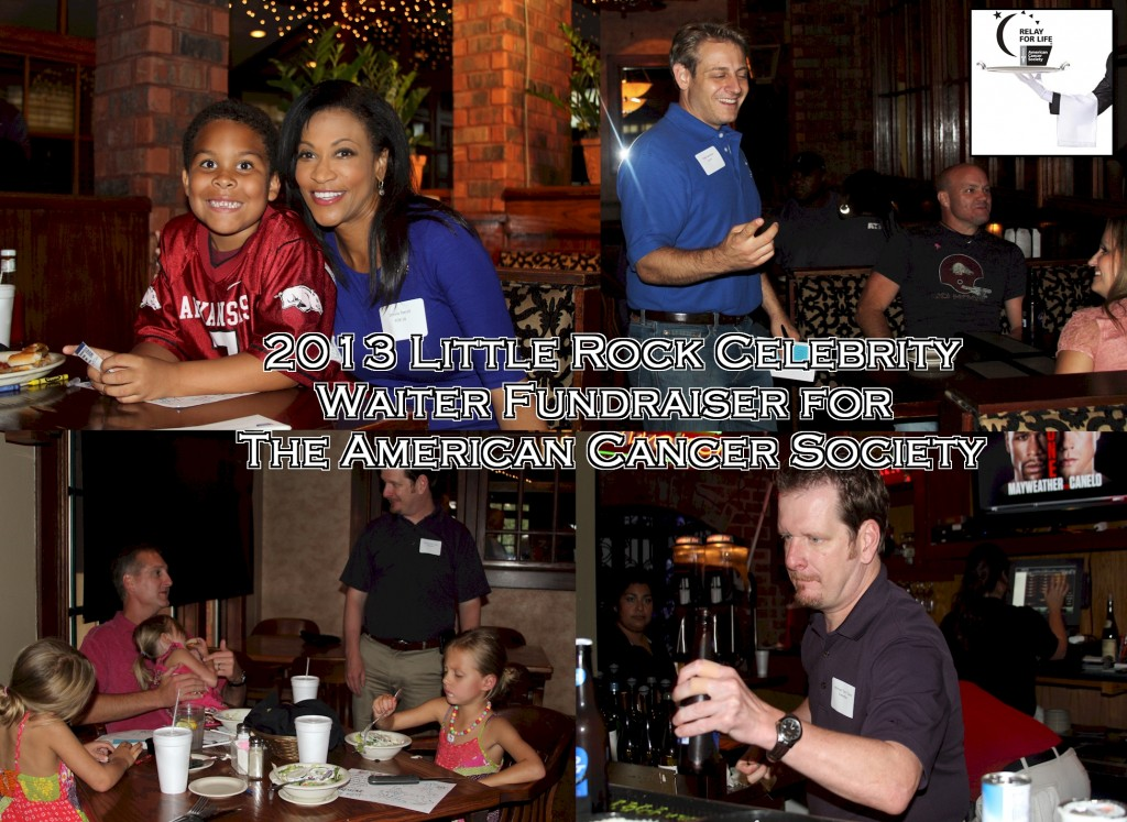 Little Rock Celebrity Waiter - American Cancer Society